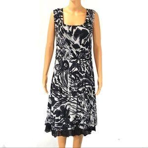 BOGO Caeliann black and white dress size L